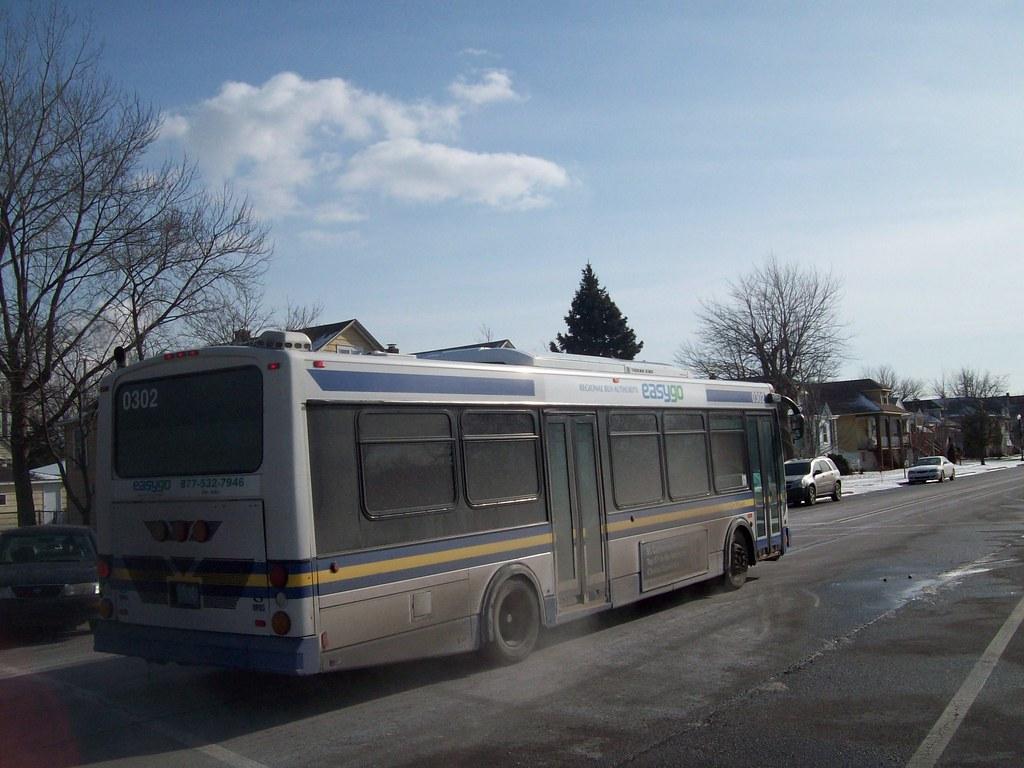 Hammond Transit System bus
