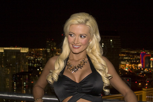 Another gorgeous close-up of @hollymadison123 from Friday's opening of PH Towers