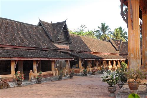 Le cloître du Vat Sisaket (Vientiane)