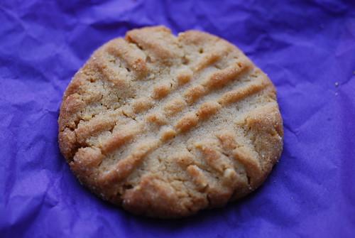 Peanut Butter Crisscrosses