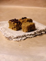 sweet pumpkin cubes3 (briiblog) Tags: pumpkin cinnamon raisins pastry flour egges