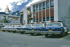 Juneau Police Department (Gillfoto) Tags: alaska vintage 1987 ak historic juneau cunard policecars chevycaprice jpd akd cunardprincess juneaupolice nleaf gillfoto 80spolicecars northwestlawenforcementassociationarchive juneaupolicecars80s