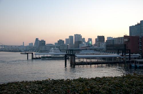 takeshiba wharf