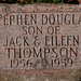 Grave Marker for  Stephen Douglas Thompson