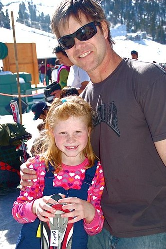 Sweet Skier and her Daddy