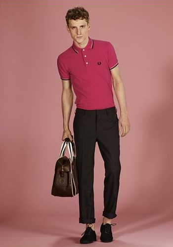 George Barnett0015_FRED PERRY MEN'S LAUREL(Official)