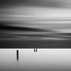 H on the Horizon (Joel Tjintjelaar) Tags: h v westkapelle i blackwhitephotos notapoem minimalisticlandscapes sonyworldphotographyawards tjintjelaar supportingthehorizon honthehorizon