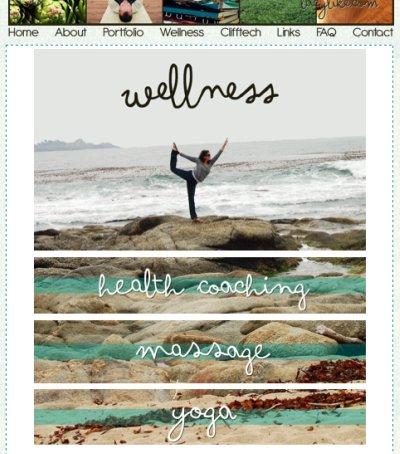 lacylike - wellness page