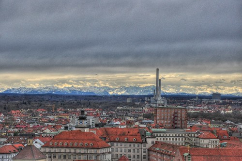 Munich & Alps HDR