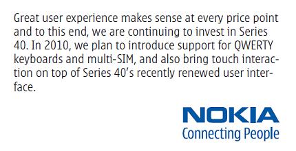 Nokia S40 Dual Sim Phone