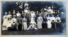 """thorley wedding 1914 • <a style=""""font-size:0.8em;"""" href=""""http://www.flickr.com/photos/43933960@N04/4398205847/"""" target=""""_blank"""">View on Flickr</a>"""