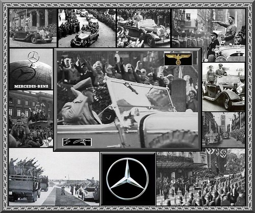 Adolf Hitler &  Mercedes 770k