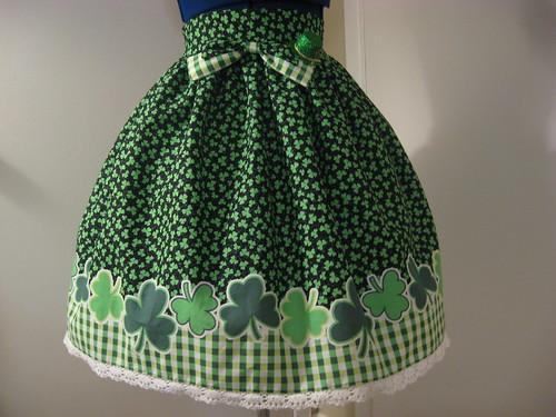 St Patricks Day Skirt 002