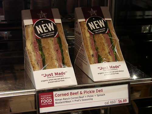 Corned Beef & Pickle Deli Sandwich from Pret a Manger