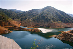 Lefkara dam (-Filippos-) Tags: mountains water june dam cyprus reservoir hills 2009 lefkara
