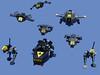 Blacktron1 (Rogue Bantha) Tags: lego space micro blacktron