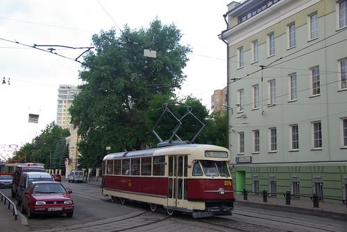 Moscow tram Tatra T2 378  _20090613_054 Tatra T2 ©  trolleway