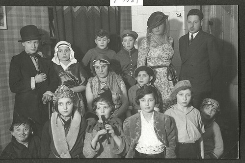 Purim in the orphanage Ahawah