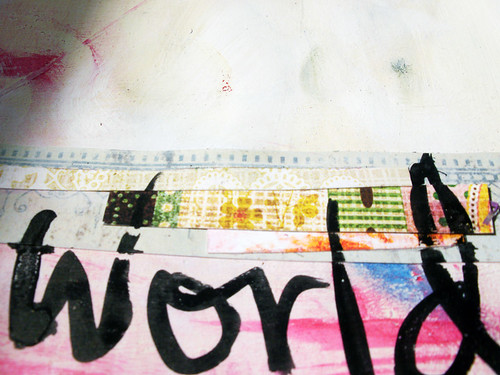 word & collage details