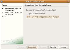 Pantallazo-Añadir Platforma Java