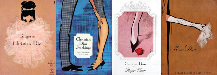 Christian Dior Advertisements