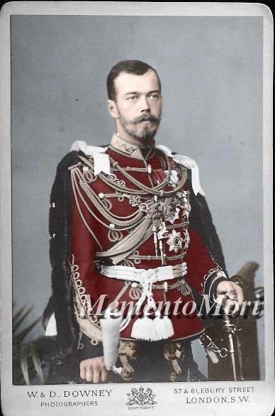 Nicholas II in england