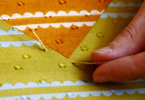 Anna Maria Horner: The Stitch : hand quilting stitch - Adamdwight.com