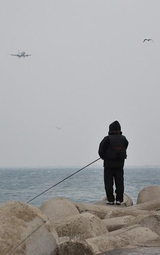 Pescando aviones