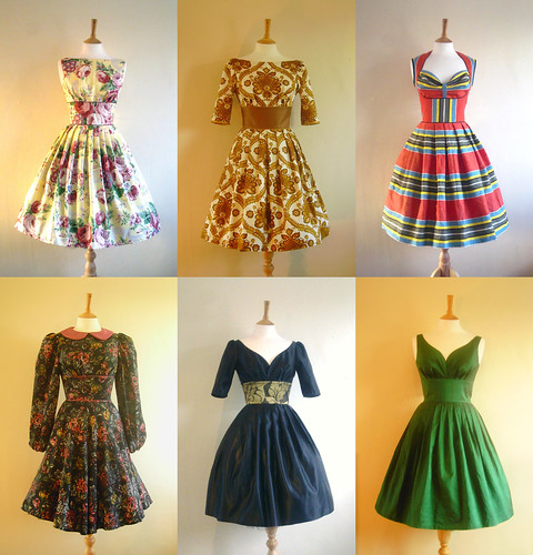 dig for victory vintage inspired dresses