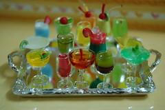 Cocktails (joyuz) Tags: miniatures playscale