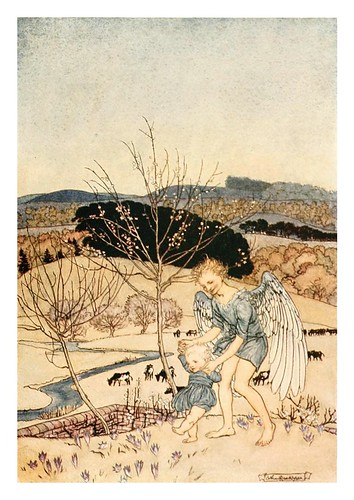 001-The springtide of life, poems of childhood (1918)- Arthur Rackham