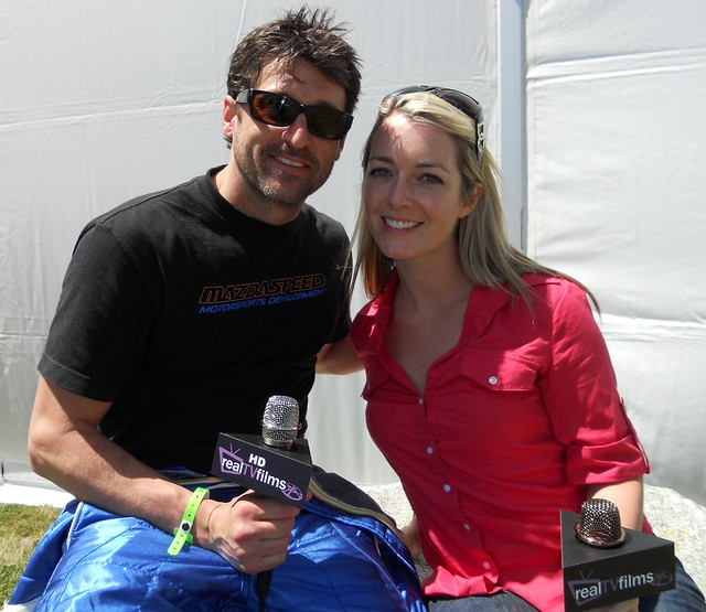 Patrick Dempsey,Toyota Grand Prix of Long Beach, Celeb Practice