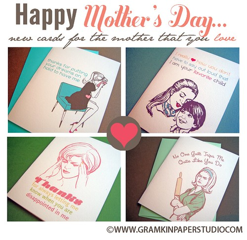 Mother's Day Cards- New Gramkin Product