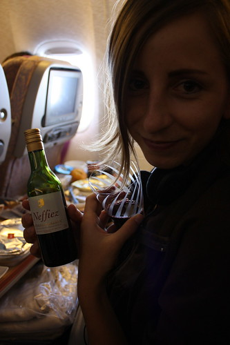 Wine time with Emirates