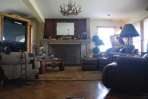 V-Bharre Ranch Lodge Living Room
