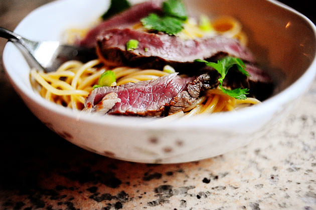 Beef Noodle Salad Bowls | The Pioneer Woman Cooks | Ree Drummond