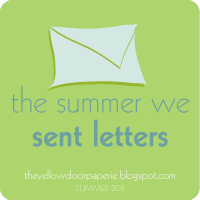 the summer we sent letters