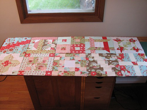 Quilt of Valor: Ten blocks down