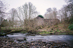 deserted (_gate_) Tags: doune castle stirling edinburgh scotland long exposure river teith