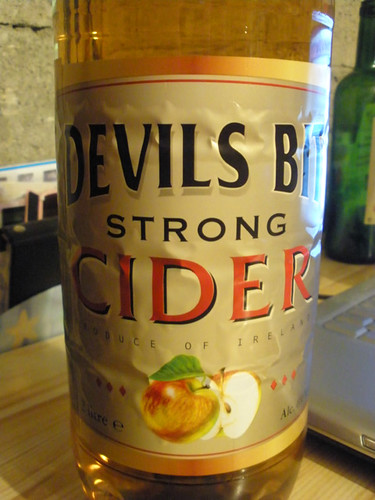 I hadn't tried Devils Bit cider before - it was nice