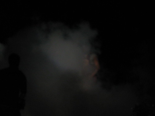 A little heavy with the smoke machine