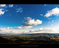 - Welcome Home -  (oliver's | photography) Tags: blue sky clouds photoshop canon germany landscape fun deutschland eos yahoo google flickr raw view image  himmel wolken atmosphere adobe blau landschaft weite 2009 blick perspektive feelings lightroom copyrighted blickwinkel digitalcameraclub pixelwork fernsicht 500px canoneos50d sigma1770mmf2845dchsm adobephotoshopcs4 thelightpainterssociety pixelwork09photography oliverhoell rintelnden18102009 allphotoscopyrighted