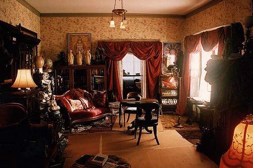 Psychic Eclectic Victorian Living Room Set Decorator Rick Romer TV Hawaii  LOST