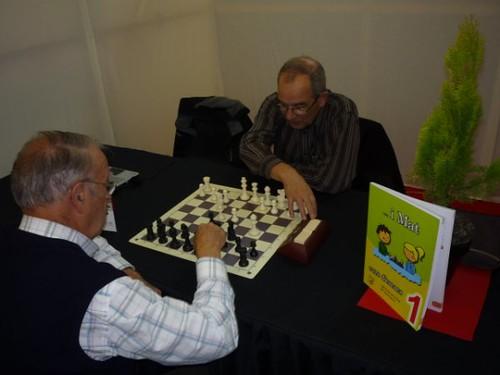 Josep Maria Gorgues i Antonio Gómez en plena acció!