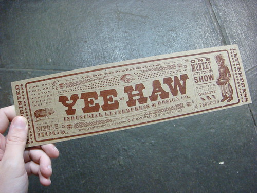 Yee-Haw Industries show
