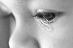 Child sorrow / Gros chagrin (Geeno) Tags: macro eye children sadness tears child minolta sony son oeil triste cry alpha cries enfant sorrow tristesse larmes regard fils larme pleurs chagrin pleur