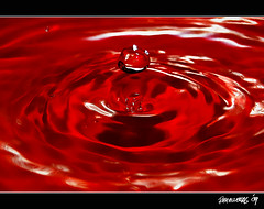 The Ripple Effect (Reybronx (on and off)) Tags: red reflection water circle singapore asia ripple drop bubble splash effect liquid tubig kodakero philippinespinas