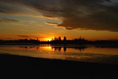 Elk Island National Park Sunset (Solojoe) Tags: park sunset sky lake canada clouds nikon national alberta elkisland 18200 brilliant elkislandnationalpark d80 astotin nikond80 astotinlake afsnikkor18200mm1356ged
