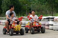 IMG_8489 (Yiwen103) Tags: 內灣 新竹 卡丁車 碰碰船 踏踏球