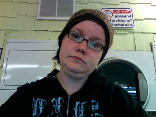 365-143: At the laundromat.